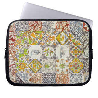 Dutch Ceramic Tiles Laptop Sleeve