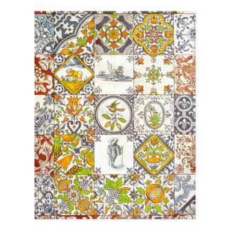 Dutch Ceramic Tiles Letterhead Template