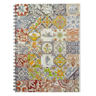 Dutch Ceramic Tiles Notebook