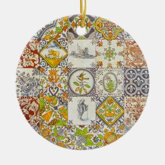 Dutch Ceramic Tiles Ornament