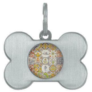Dutch Ceramic Tiles Pet Tag