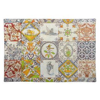 Dutch Ceramic Tiles Placemat