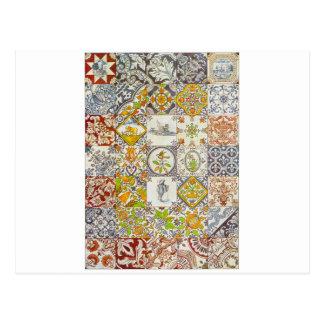 Dutch Ceramic Tiles Postcard