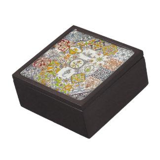 Dutch Ceramic Tiles Premium Trinket Box