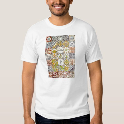 Dutch Ceramic Tiles T Shirts