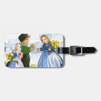 Dutch Children Tag For Bags