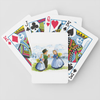 Dutch Children Bicycle Playing Cards