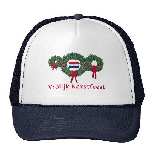 Dutch Christmas 2 Hat