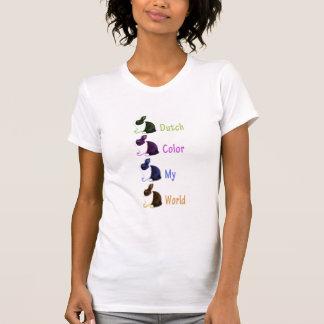 Dutch color my world women's shirt