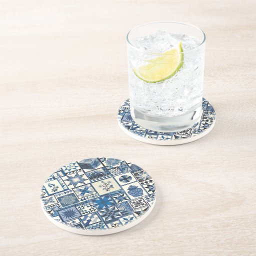 Dutch Delft Drink Coasters Zazzle