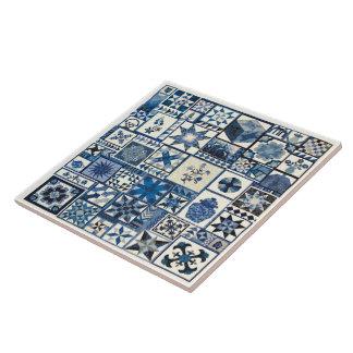 Dutch Delft Large Square Tile