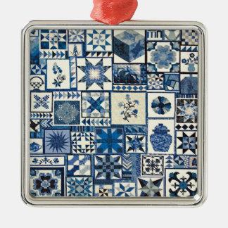 Dutch Delft Metal Ornament