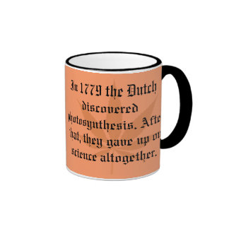 Dutch Discoveries - Photosynthesis Coffee Mugs