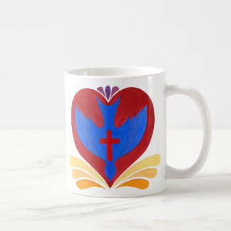 Dutch Dove of love, the Holy Spirit -- Mug