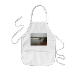 Dutch Dunes in Winter Kids' Apron