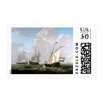 Dutch East India Company Ships by Jacob van Strij Postage