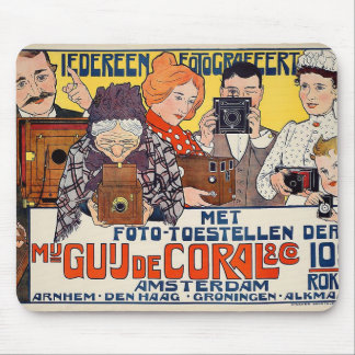 Dutch ~ Everyone Taking Photos 1901 Mouse Pad