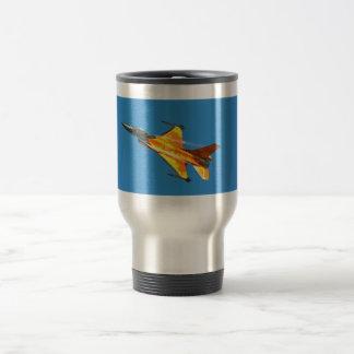 Dutch F-16 Fighting Falcon Jet Airplane Travel Mug