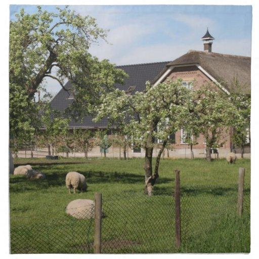 Dutch farm napkin