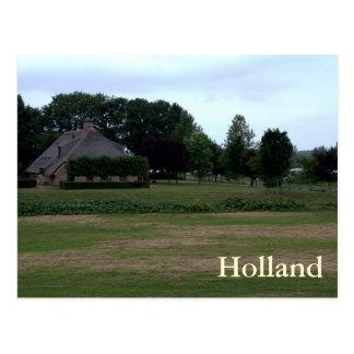 Dutch farm postcard