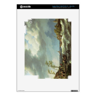 Dutch Fishing Vessel Caught on a Lee Shore with Vi iPad 3 Decal