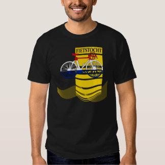 Dutch Flag Bicycle T Shirt