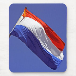 Dutch flag from the Netherlands Mouse Pad