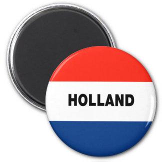 Dutch Flag Fridge Magnet