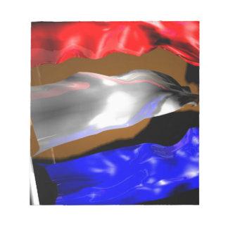 Dutch Flag Notepad