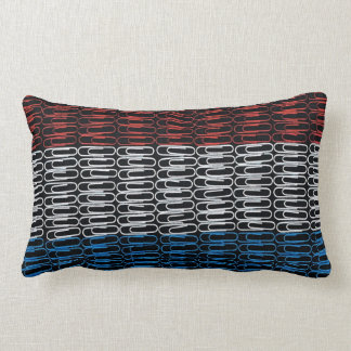 Dutch Flag of Paperclips Pillow