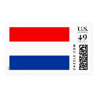 Dutch Flag Postage Stamps