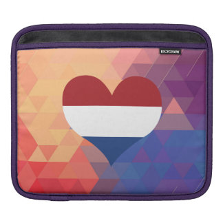 Dutch Flag Star On A Bokeh Background iPad Sleeves
