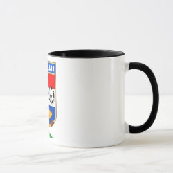 Combo Mug with Dutch Voetbal Lion / Leeuw design