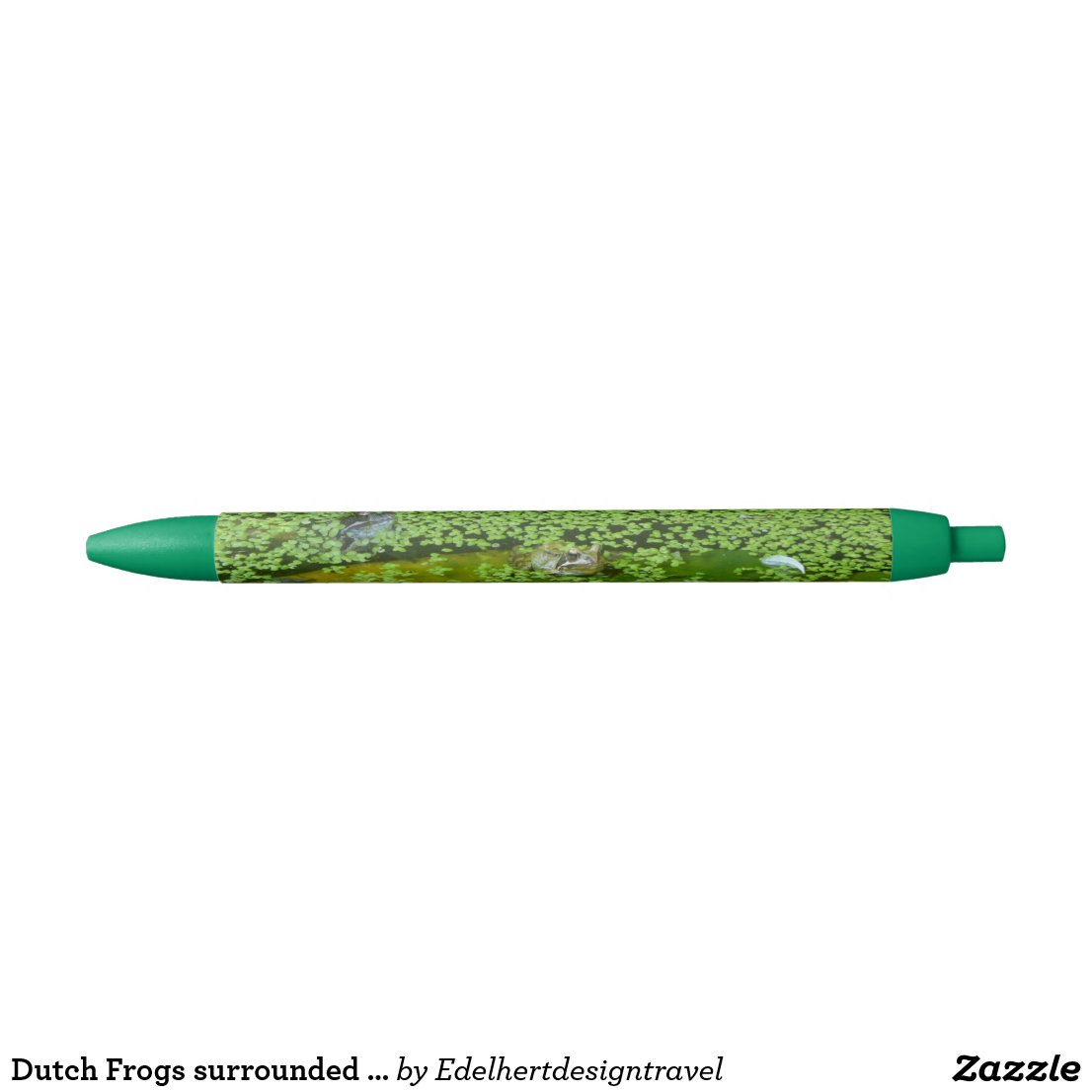 Dutch Frogs surrounded by Duckweed Pen