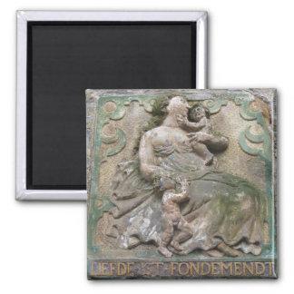 Dutch Gable Stone Magnet