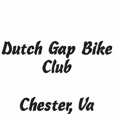 Dutch Gap Bike Club, Chester, Va Polo Shirt