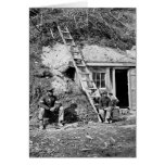 Dutch Gap Shelter: 1864 Card