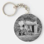 Dutch Gap Shelter: 1864 Keychain