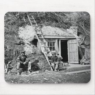Dutch Gap Shelter: 1864 Mouse Pad