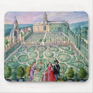 Dutch Garden, 1650 (w/c on paper) Mouse Pad