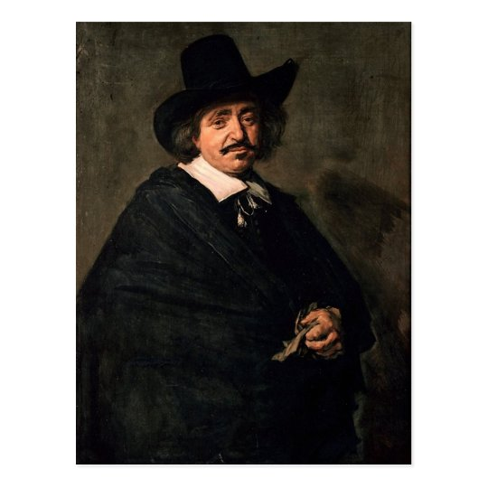 Dutch Gentleman Postcard