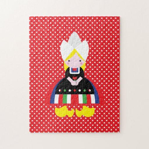 Dutch girl jigsaw puzzles