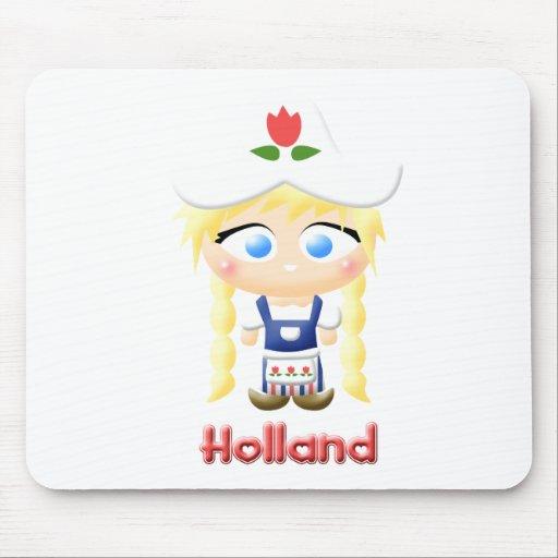 Dutch Girl Mouse Mat