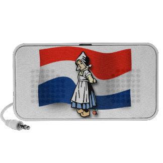 Dutch Girl Portable Speaker