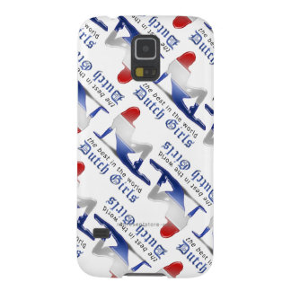 Dutch Girl Silhouette Flag Galaxy S5 Cover