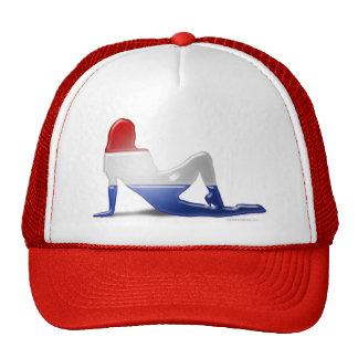 Dutch Girl Silhouette Flag Trucker Hat