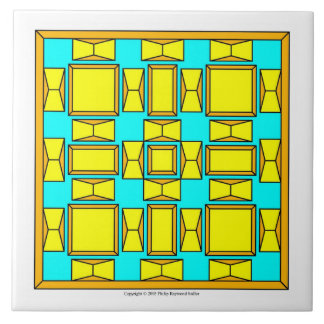 Dutch Gold And Yellow Large Square Tile
