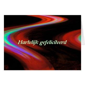 Dutch Happy Birthday Card