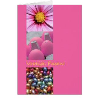 Dutch Happy Easter Vrolijk Pasen Card