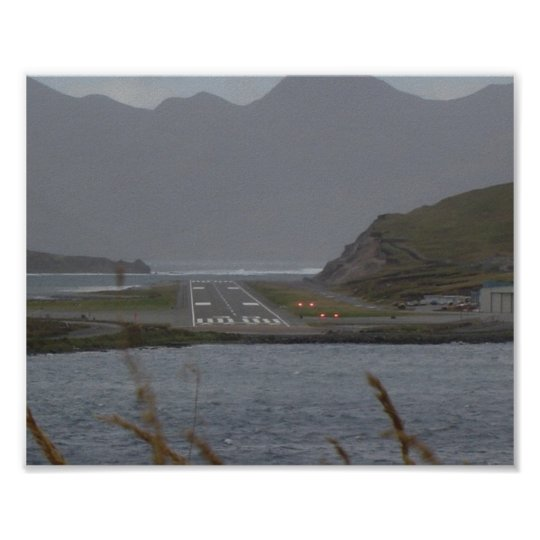 Dutch Harbor Airport Poster